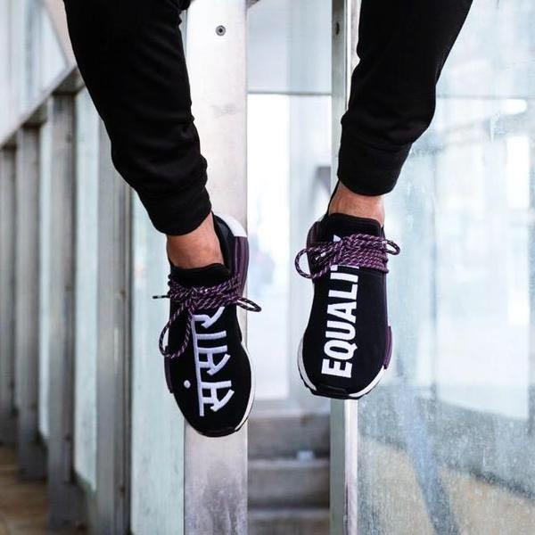 89709b4fa003f Instock Adidas NMD R1 Trail Pharrell Williams Black
