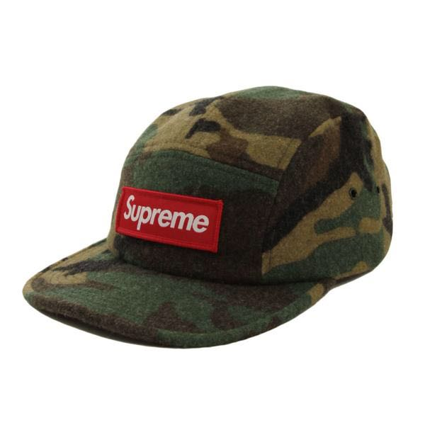 9b37fb8d Instock Supreme Camo Wool Camp Cap, Men's Fashion, Accessories, Caps ...