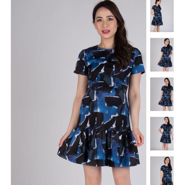 46e3b04930c42 Jump Eat Cry JEC Leorie Peplum Maternity Nursing Dress, Women's ...