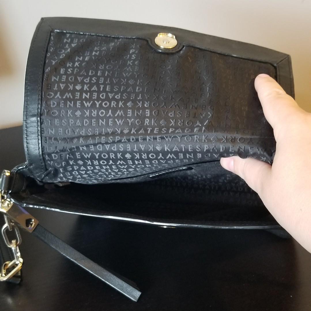 Kate Spade Black Leather Crossbody