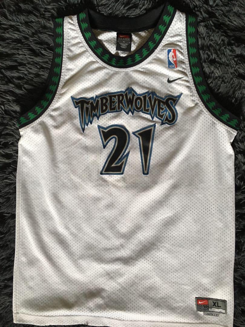 huge inventory f7405 a6843 Kevin Garnett NBA jersey (Minnesota Timberwolves), Sports ...