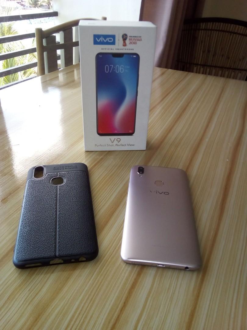 Latest Vivo V9 Gold 64gb Complete Mobile Phones Tablets On Carousell Speaker Bluetooth Ori