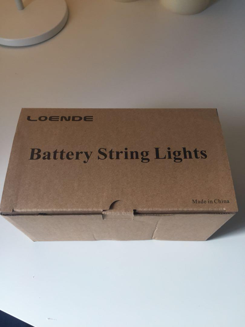Loende 200 Battery Led String Lights with remote