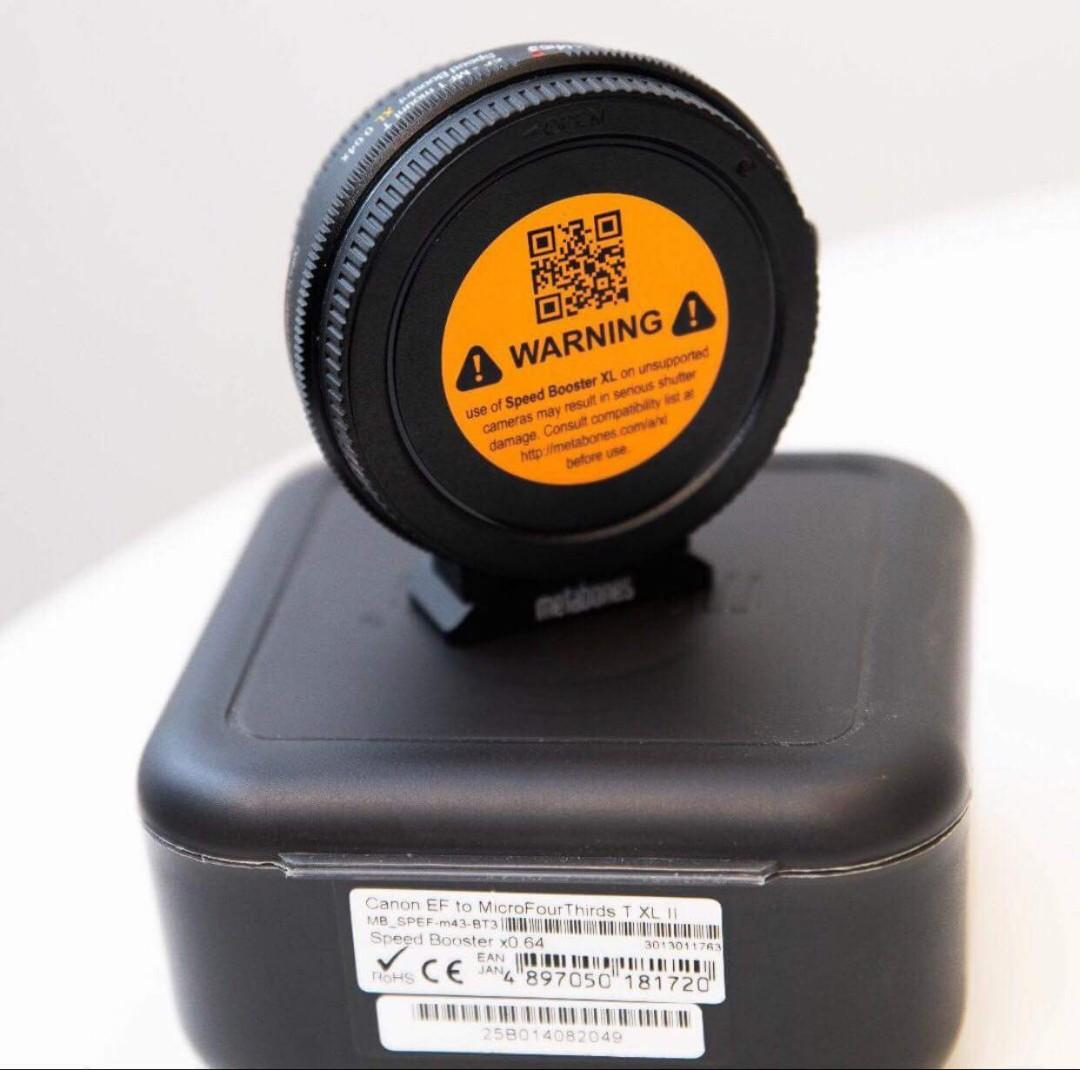 Metabones Speedbooster Xl 064x Ef Mft Canon To M43 Adapter Olympus Mzuiko Digital 75 300mm F48 67 Ii Black Photography Lenses On Carousell