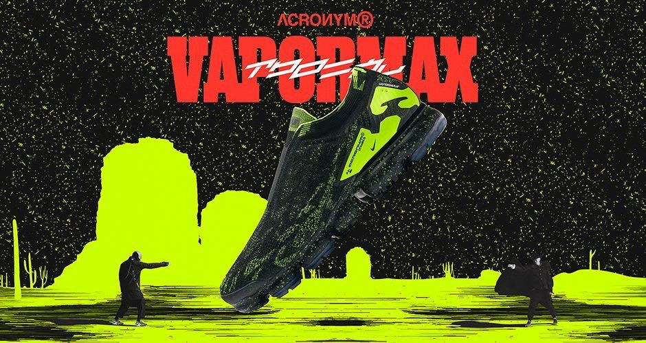ee967065da Nikelab x Acronym Air VaporMax Flyknit Moc 2, Men's Fashion ...