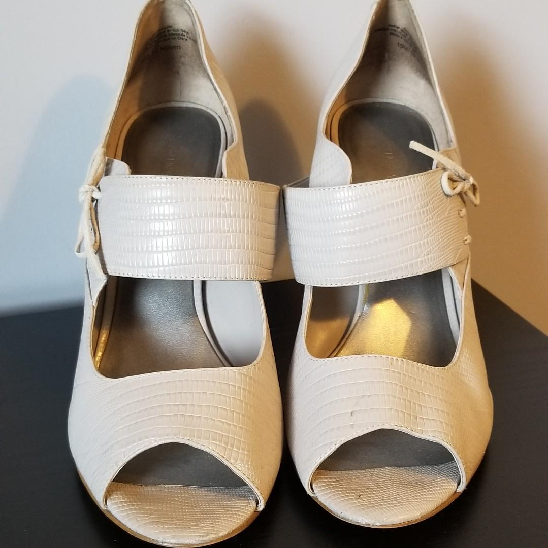 Nine West Bone Heels size 10