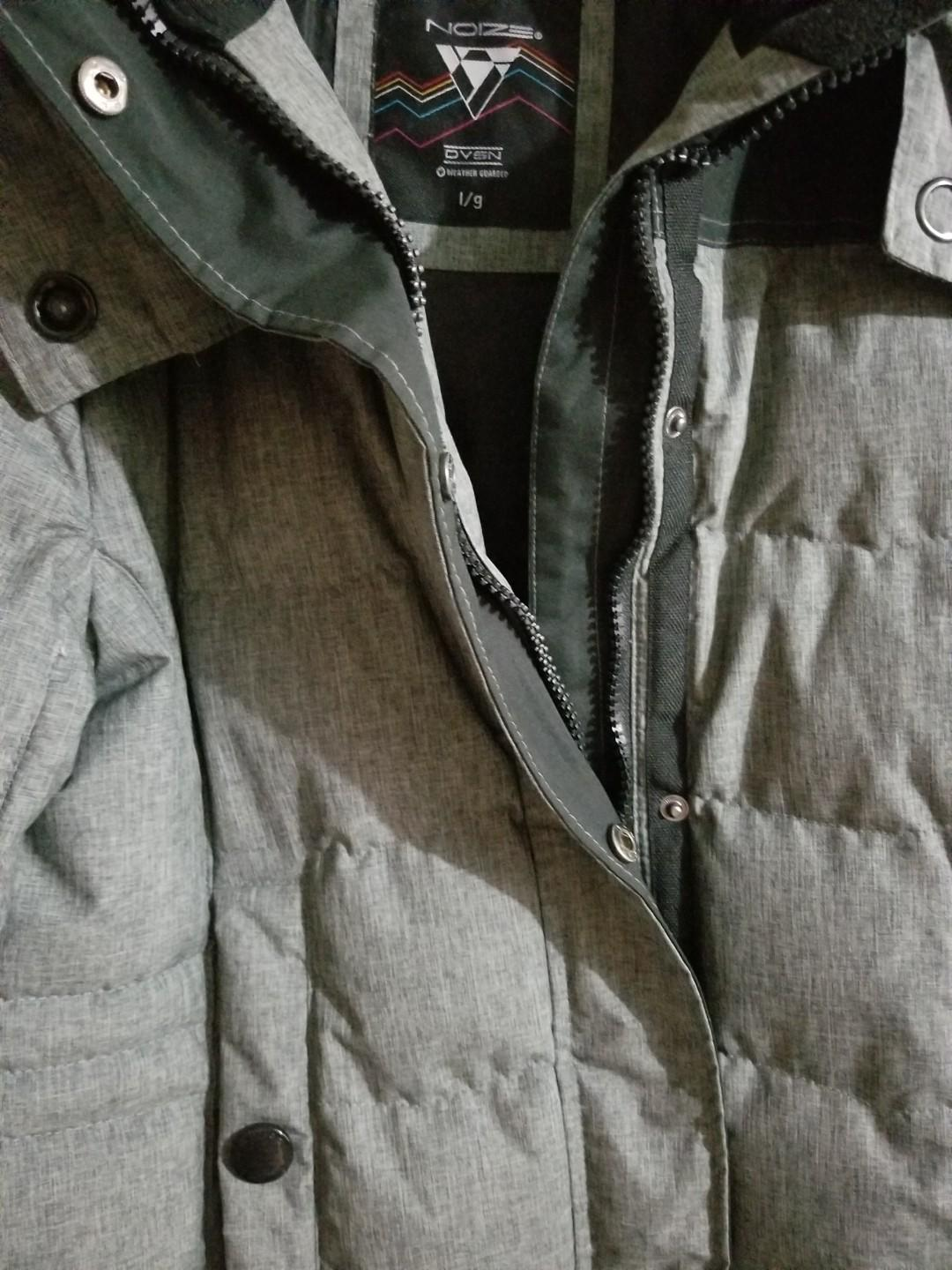 Noize winter coat Gray worn only once