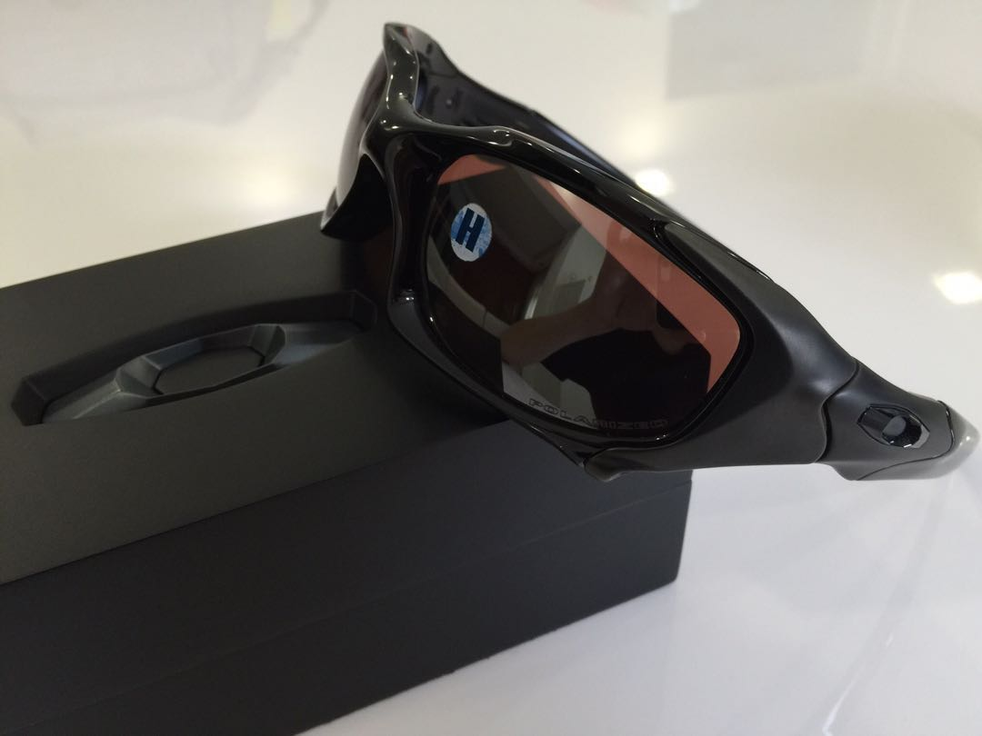 Oakley Pit Boss Polished Gun Metal With Vr28 Black Iridium Bnib Fuse Box Sports Apparel On Carousell