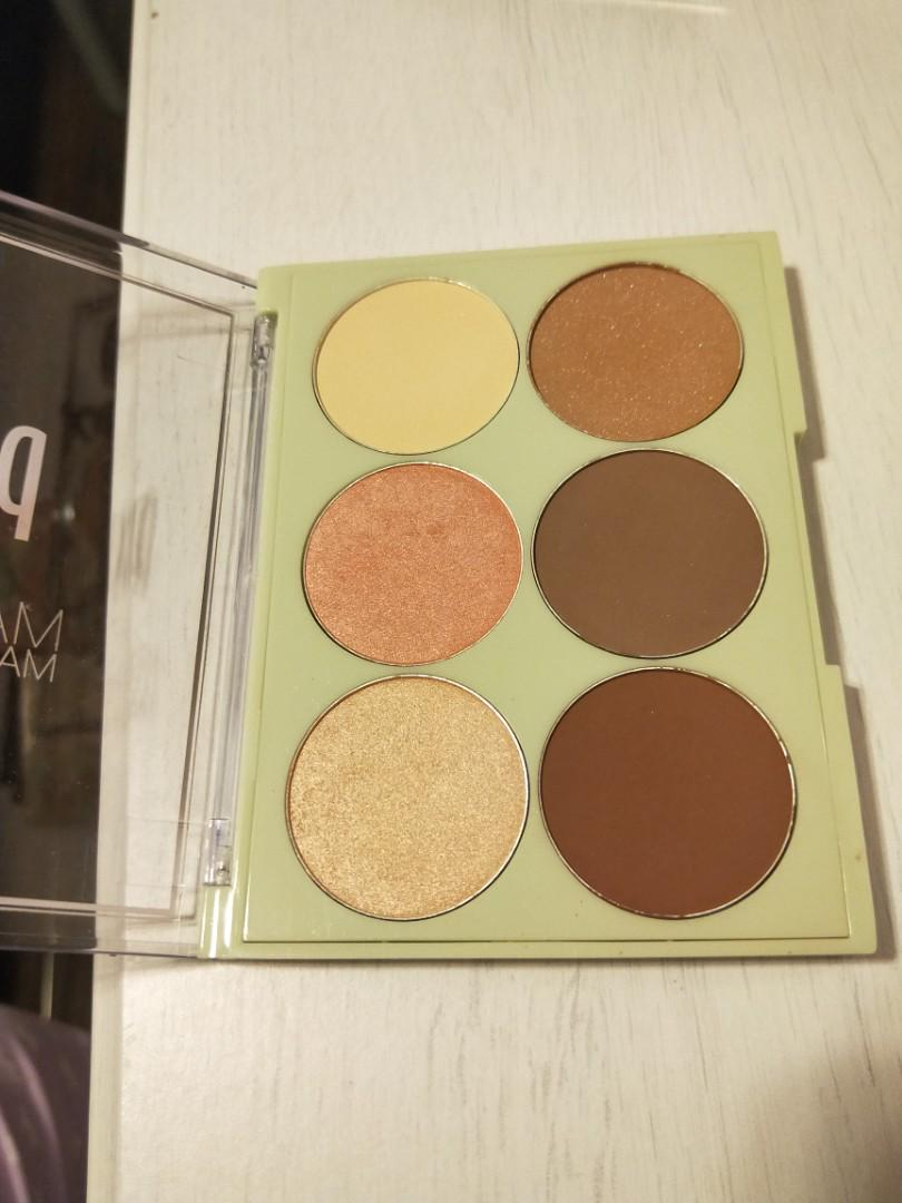 Pixi highlight and contour palette