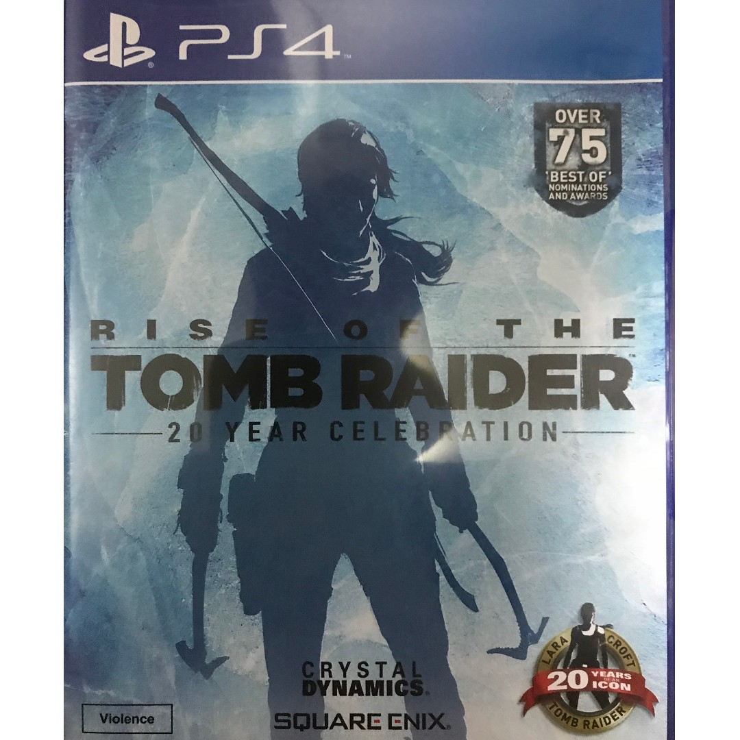 Playstation 4 Rise Of The Tomb Raider Toys Games Video Gaming Sony Ps4 On Carousell