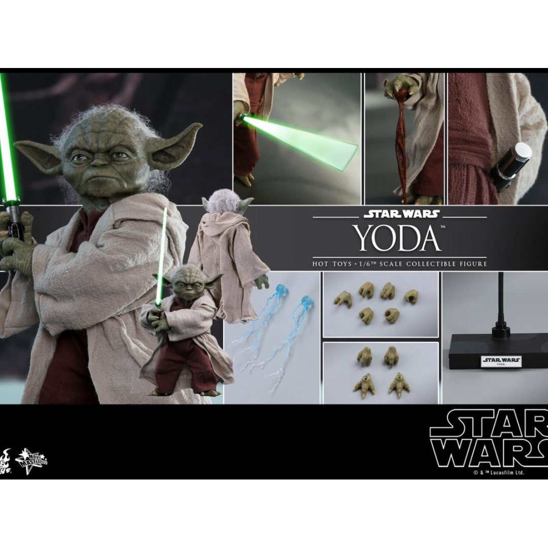 15c3102ecd PRE-ORDER   Hot Toys MMS495 - Star Wars Episode II  Attack of the Clones -  Yoda