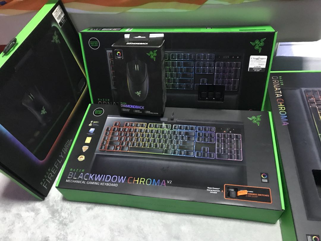 a1fc89234fe ❗️Razer blackwidow chroma v2 (NEW) ❗ , Electronics, Computers ...
