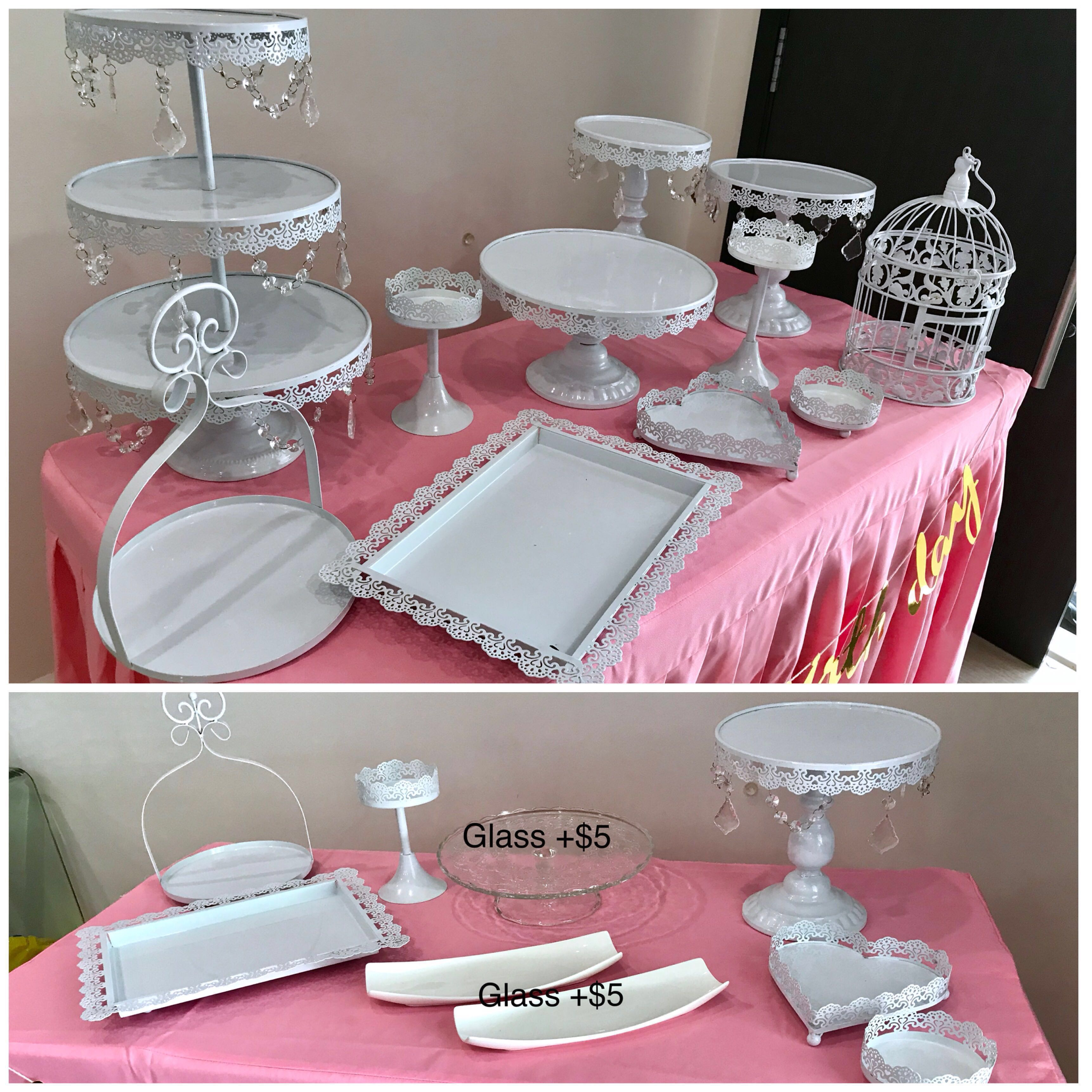 Rental Of Desert Table Display & Decorations For Party, Design