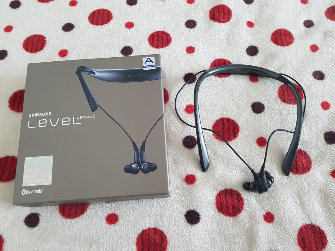 8d72e82a3f7 SAMSUNG LEVEL U PRO ANC Bluetooth Wireless Headphone, Electronics, Others  on Carousell