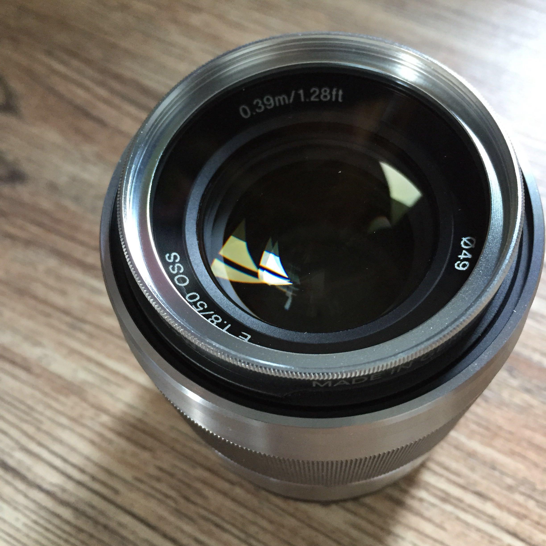 Sony E-Mount 50mm f1.8 OSS Lens (SEL50F18)