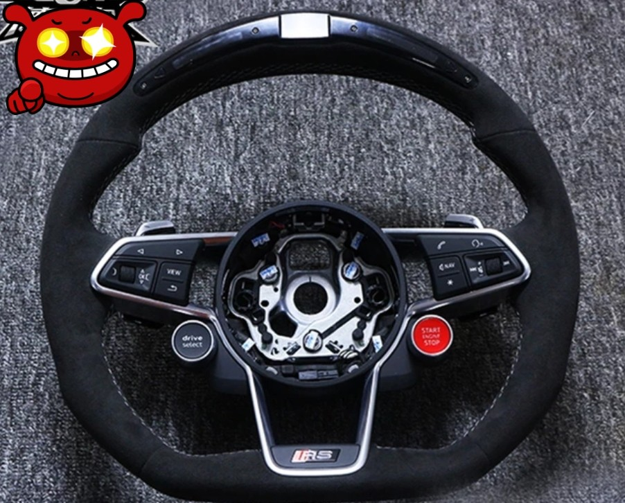 Steering Wheel For Audi R8 Car Accessories Accessories On Carousell