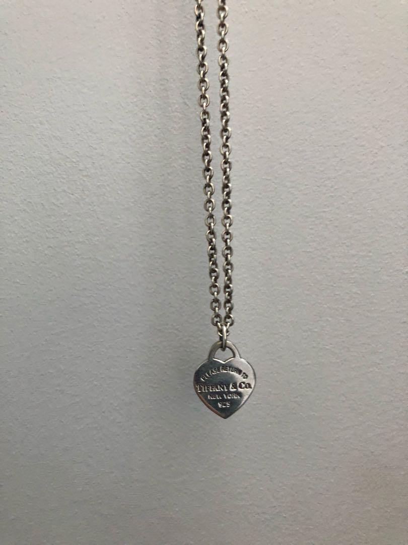Tiffany&Co Heart Pendant and Chain