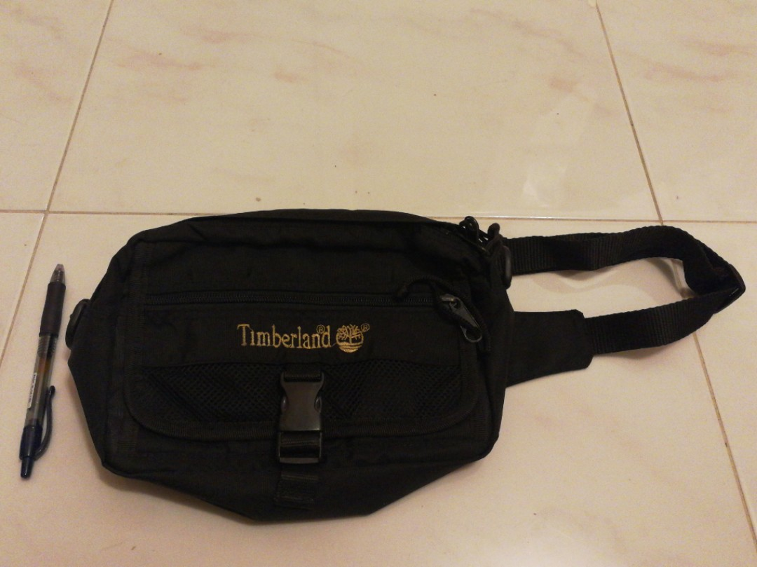e011b33c401 Timberland Waist Bag, Men's Fashion, Bags & Wallets, Others on Carousell