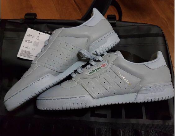bb68a1e3f87f1 UK 9  Adidas Yeezy Powerphase Grey Calabasas