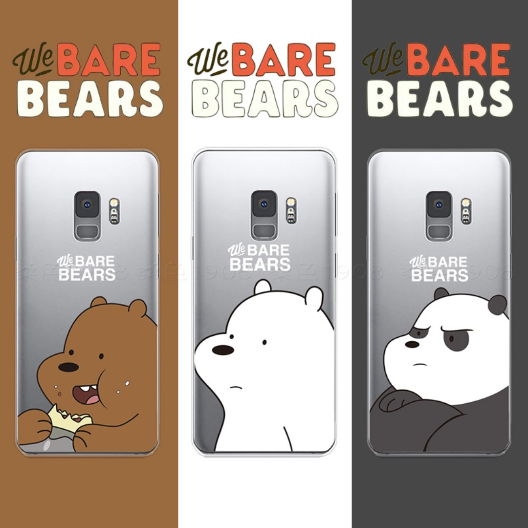 super cute f7f0d d44ac We Bare Bears - Samsung case s9 / s9 plus/ s8/ s8 plus