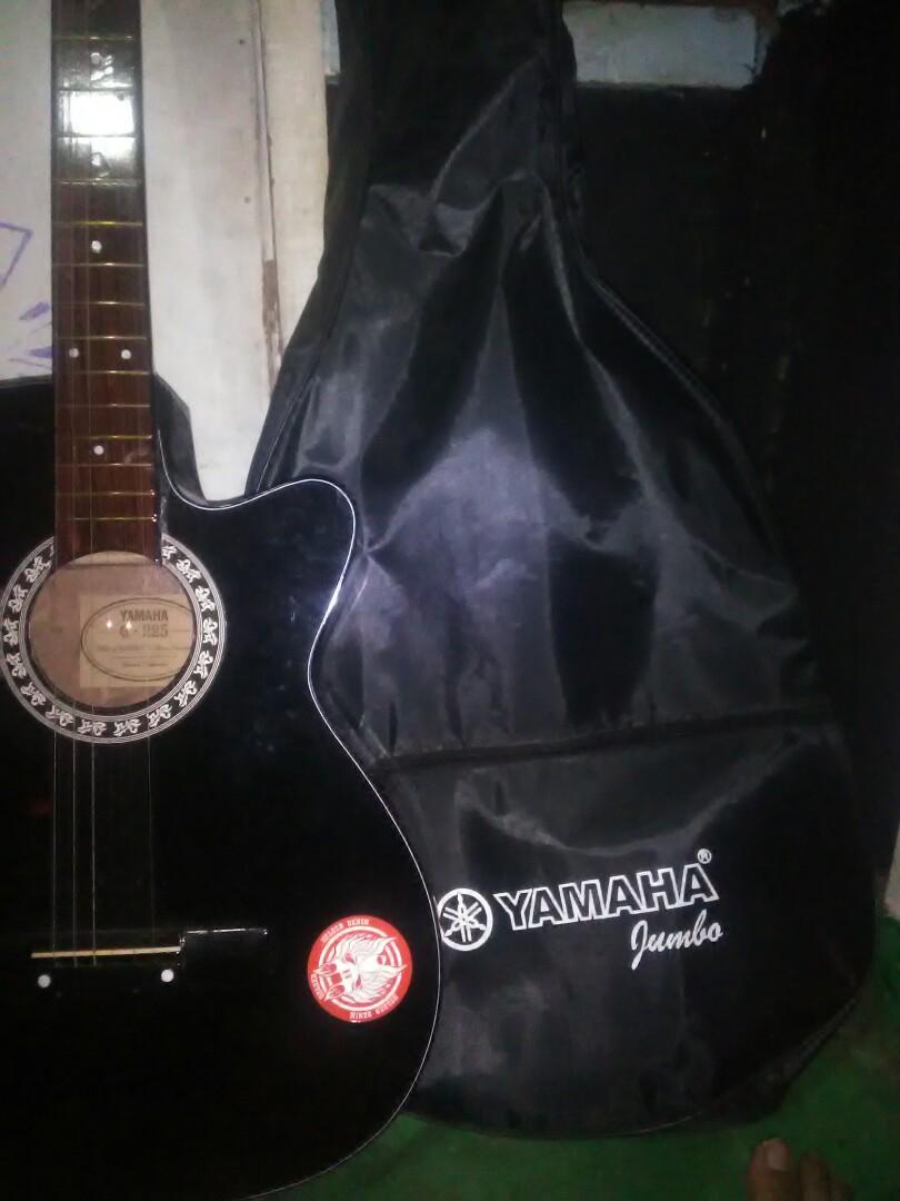 Yamaha Gitar Custom Include Case Musik Media Alat Di Carousell