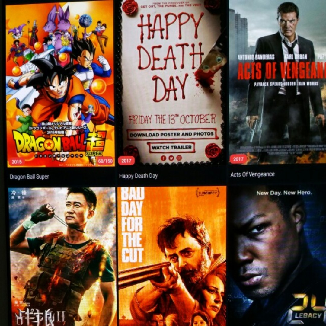 free action movie apps