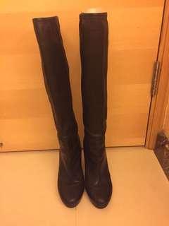 Miumiu long boots軟身羊皮