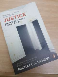 Justice what is the right thing to do - Michael Sandel