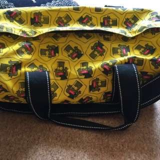 NEW Simpsons Sling duffle bag with sling from Japan