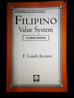 Filipino Value System by F. Landa Jocano