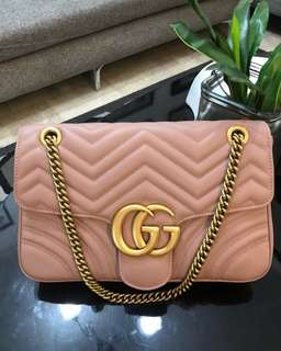 Gucci Marmont Sling Pink