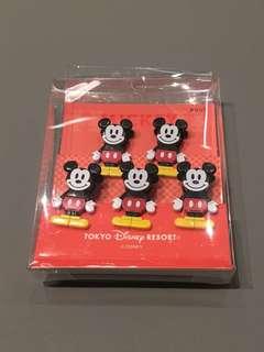 Tokyo Disneyland Mickey Mouse Clipset (5pcs)