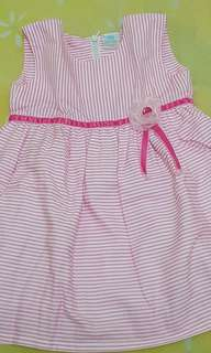 Stripes pinky Dress PIPINIKO