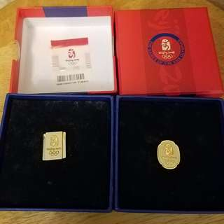 2008 Beijing Olympic Napel Pin 北京奧運胸章