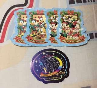 迪士尼貼紙(包郵)