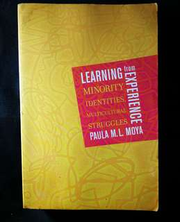 Learning from Experience: Minority Identities, Multicultural Struggles by Paula Moya