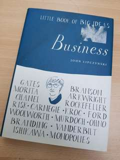 Little Big Book of Big Ideas in Business - John Lipczynski