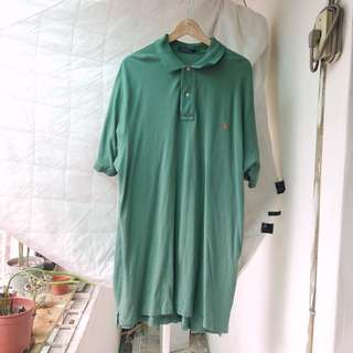 🇯🇵 vintage / Ralph Lauren polo shirt 古著 湖水綠