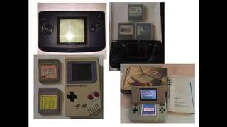 Retro Handheld Lot Sale For $150