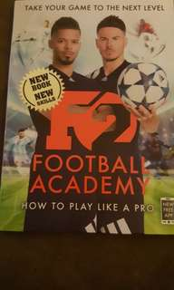 F2 FOOTBALL ACADEMY BOOK
