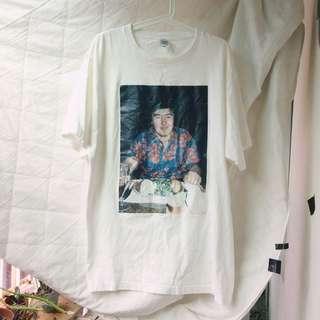 🉐️ 🇯🇵古著 / 穿上夏威夷襯衫的T恤 vintage 照片 T SHIRT