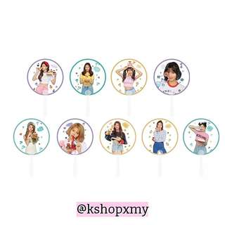 Twice ' What Is Love ' Member Transparent Fan