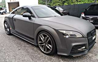 SAMBUNG BAYAR/CONTINUE LOAN  AUDI TT TSFI TURBO 2.0 STAGE 4 AUTO YEAR 2008/2011 MONTHLY RM 2200 BALANCE 2 YEARS 4 MONTHS ROADTAX VALID TIPTOP CONDITION  DP KLIK wasap.my/60133524312/tt