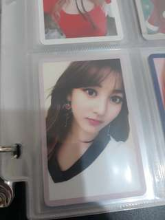 WTT Jihyo photocard