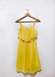 Forever21 yellow dress