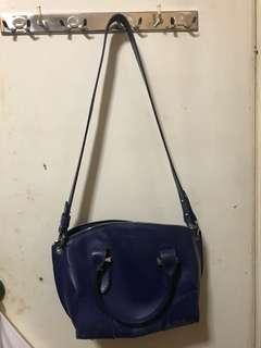 Alexander McQueen Legend bag 藍色真皮 100% authentic 100%正貨