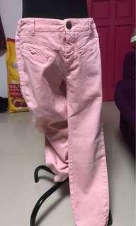 Zara Girls Pants Size 9/10 Salmon Pink