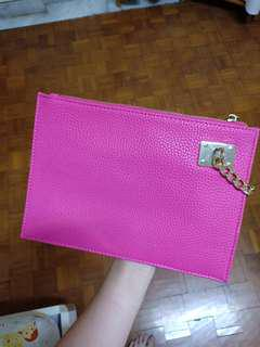 REPRICE clutch pink