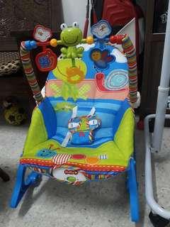 Bby cot n swing chair