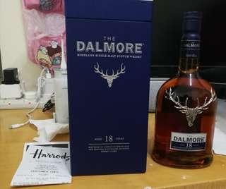 大摩 Dalmore 18年 威士忌 70 cl